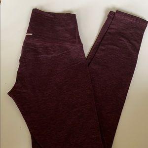 Dark purple aerie leggings